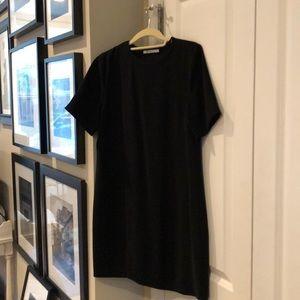 Alexander Wang - cap sleeve dress - black